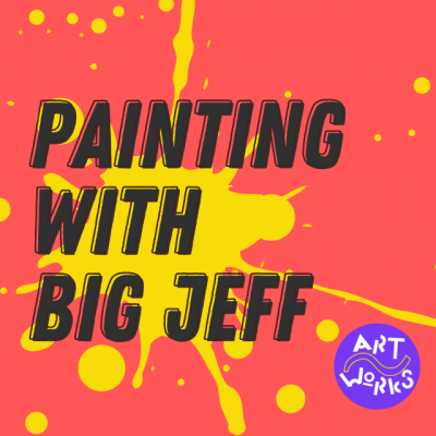 Painting with Big Jeff